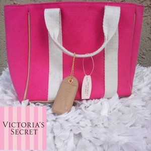 Victoria's Secret mini canvas tote